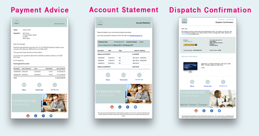 Social Media Floe Different Types of Documents